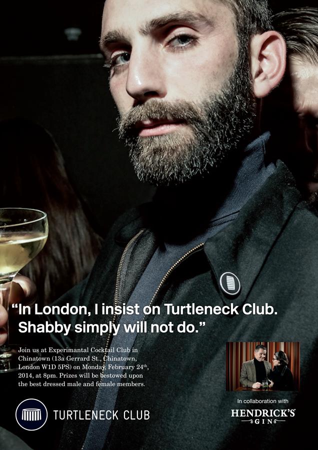 Turtleneck Club London - Experimental Cocktail Club 22.02.204