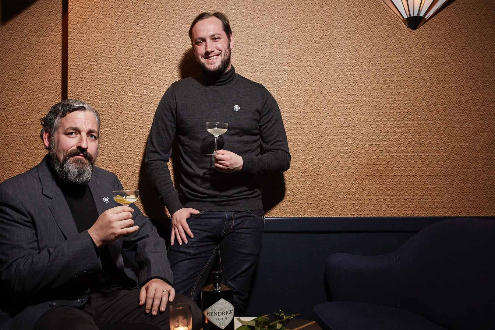 Pierre-Marie Bisson & Craig Judkins at Joyeux Bordel Turtleneck Club London Shoreditch